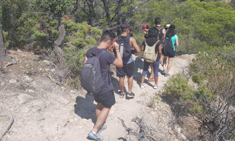 Sentier de la randonnée