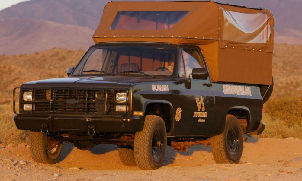 Parcourir le désert  en 4x4