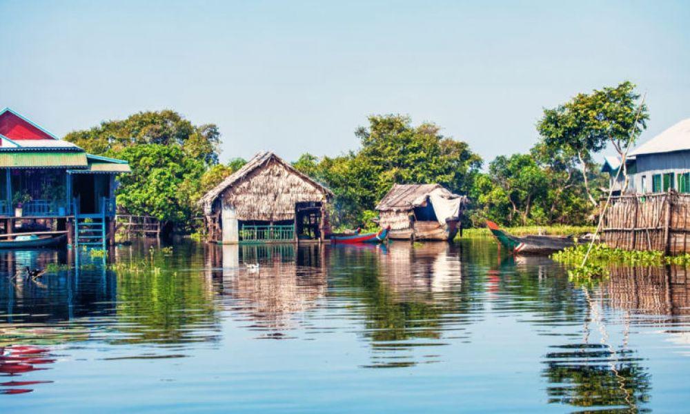 Le village flottant de Chong Kneas