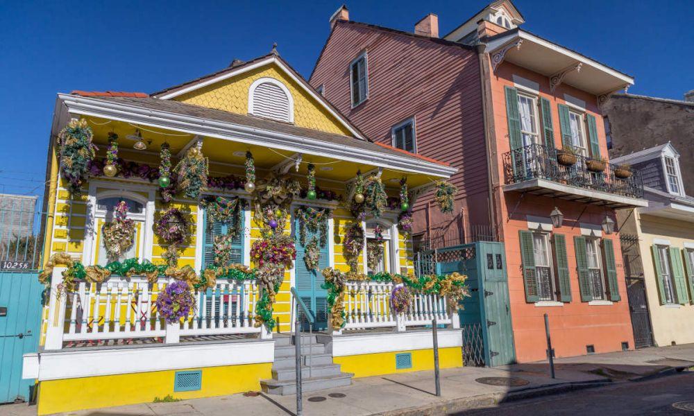 Maisons coloniales du quartier français