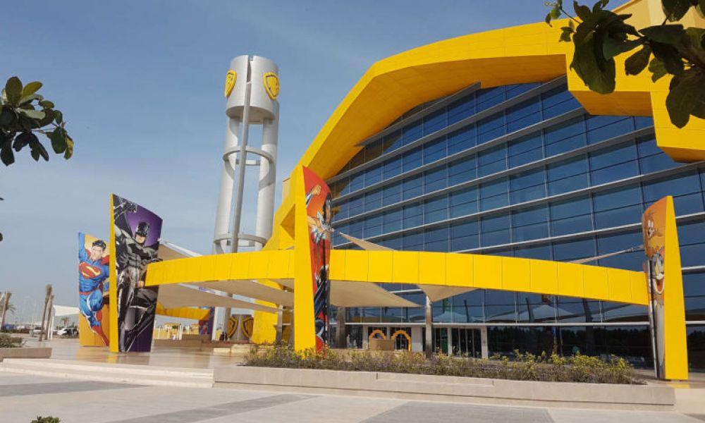 Installations du Warner Bros d'Abou Dabi